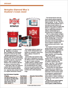 Diamond Blue Spotlight Article published in Lubes'n'Greases