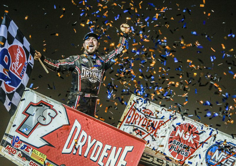 THE DRYDENE DOUBLEHEADER WEEKEND AT DOVER INTERNATIONAL SPEEDWAY PUTS DRYDENE IN THE SPOTLIGHT