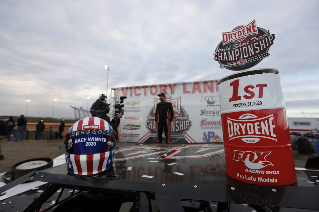 Drydene World Short Track Championship Pro Late Models win
