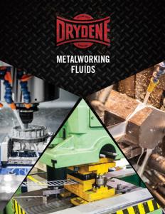 Drydene Metalworking Fluids Brochure